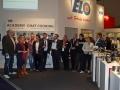 Vollkommen zufrieden: Die Gewinner, Jury-Mitglieder und Sponsoren des Food Blooger Award.