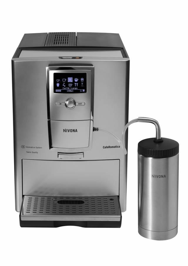 GLÄNZENDE ERSCHEINUNG. Der neue Kaffeevollautomat