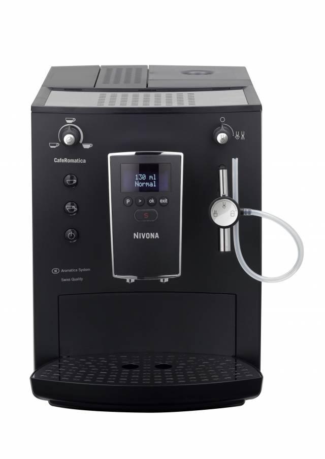 Nivona 745 CafeRomatica, mit durchdachtem Design und gut lesbaren digitalen Textdisplay punkted dieser neue Kaffeevollautomat