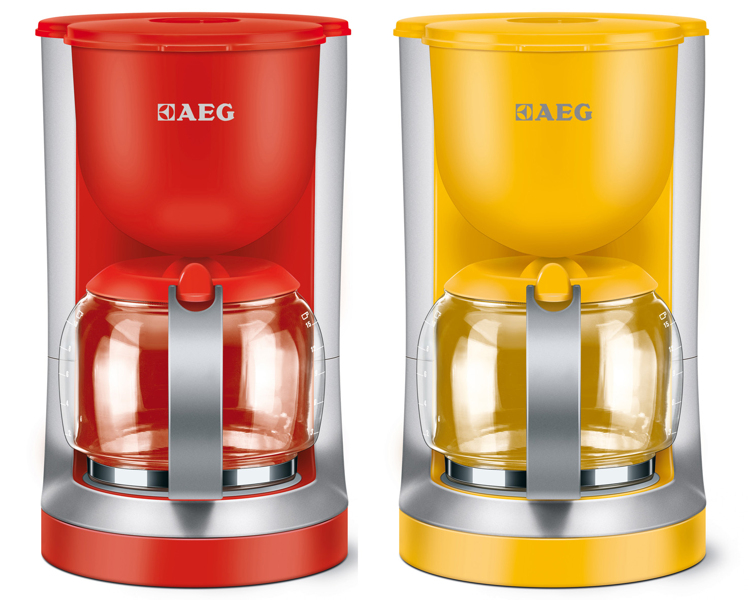 aeg go colour kaffeemaschine in poppigen farben. Black Bedroom Furniture Sets. Home Design Ideas