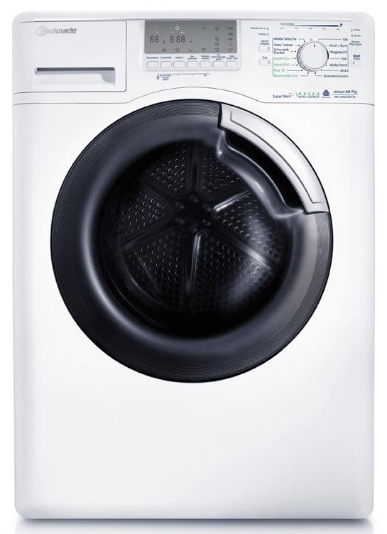 bauknecht ecostyle waschmaschine 3 t v waschmaschinen aus der serie uniq. Black Bedroom Furniture Sets. Home Design Ideas