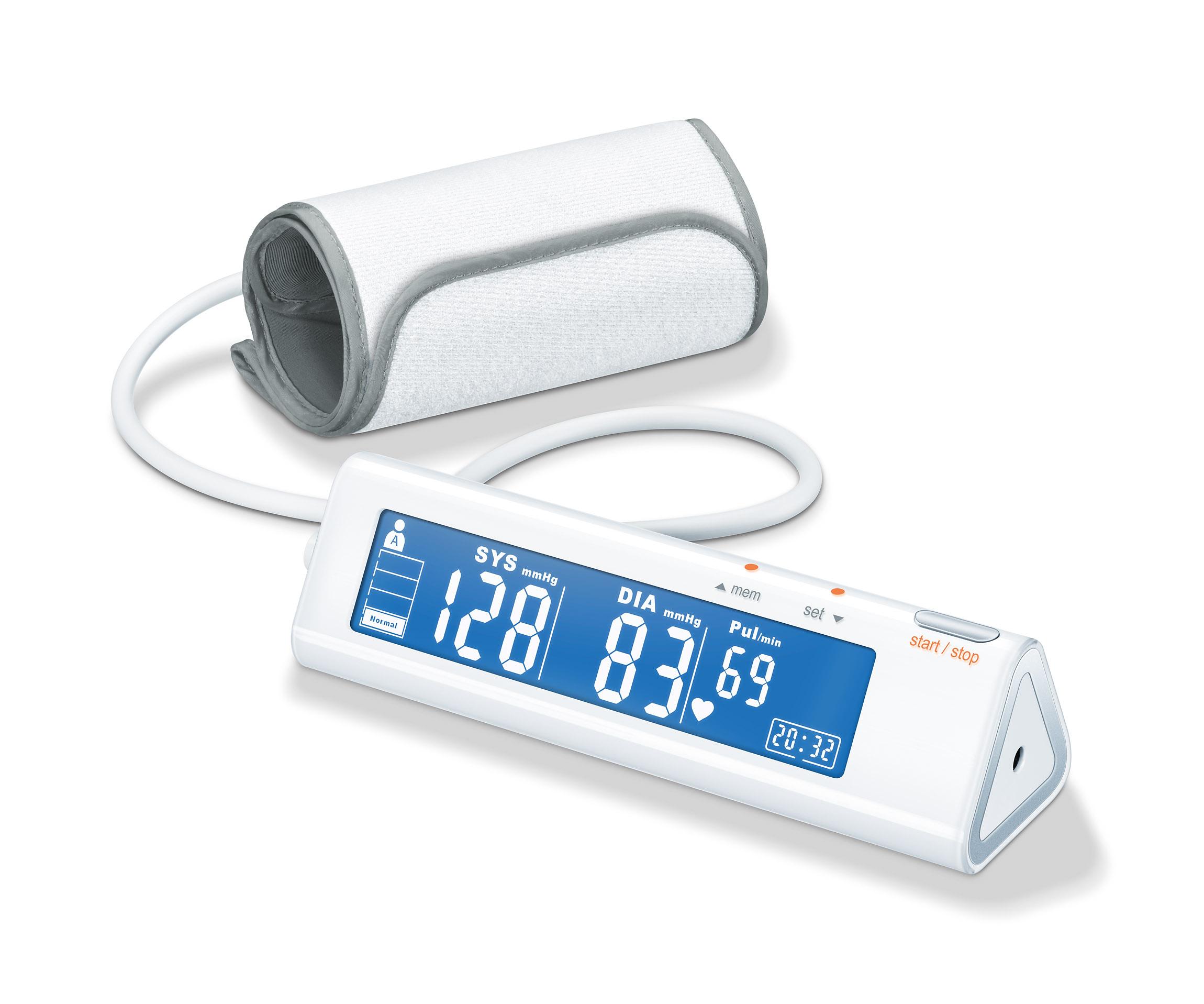 Beurer BM90 Blutdruckmessgerät: Gesundheitsüberwachung mit Stil - Beurer BM90 Blutdruckmessgerät: Gesundheitsüberwachung mit Stil