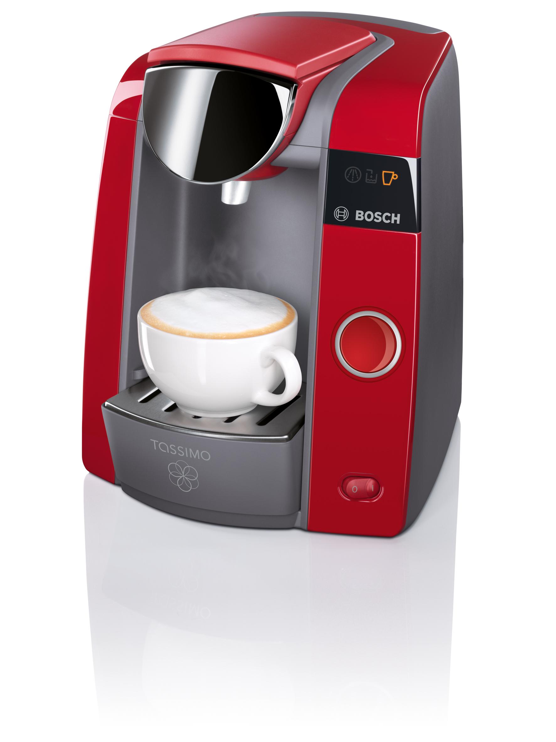bosch tassimo joy kaffeemaschine kommt jetzt in rubin red. Black Bedroom Furniture Sets. Home Design Ideas