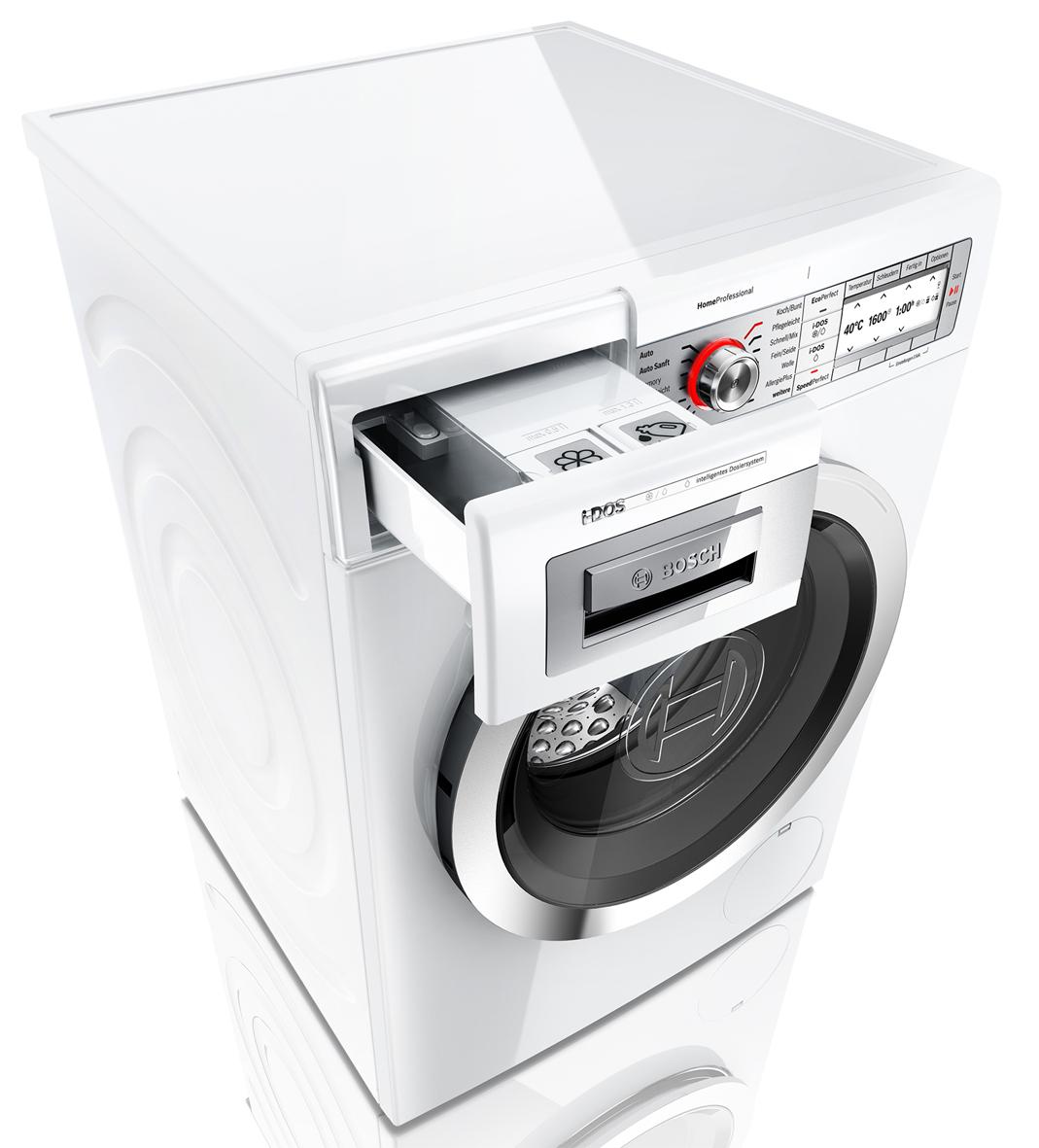 bosch homeprofessional i dos waschmaschine mit. Black Bedroom Furniture Sets. Home Design Ideas