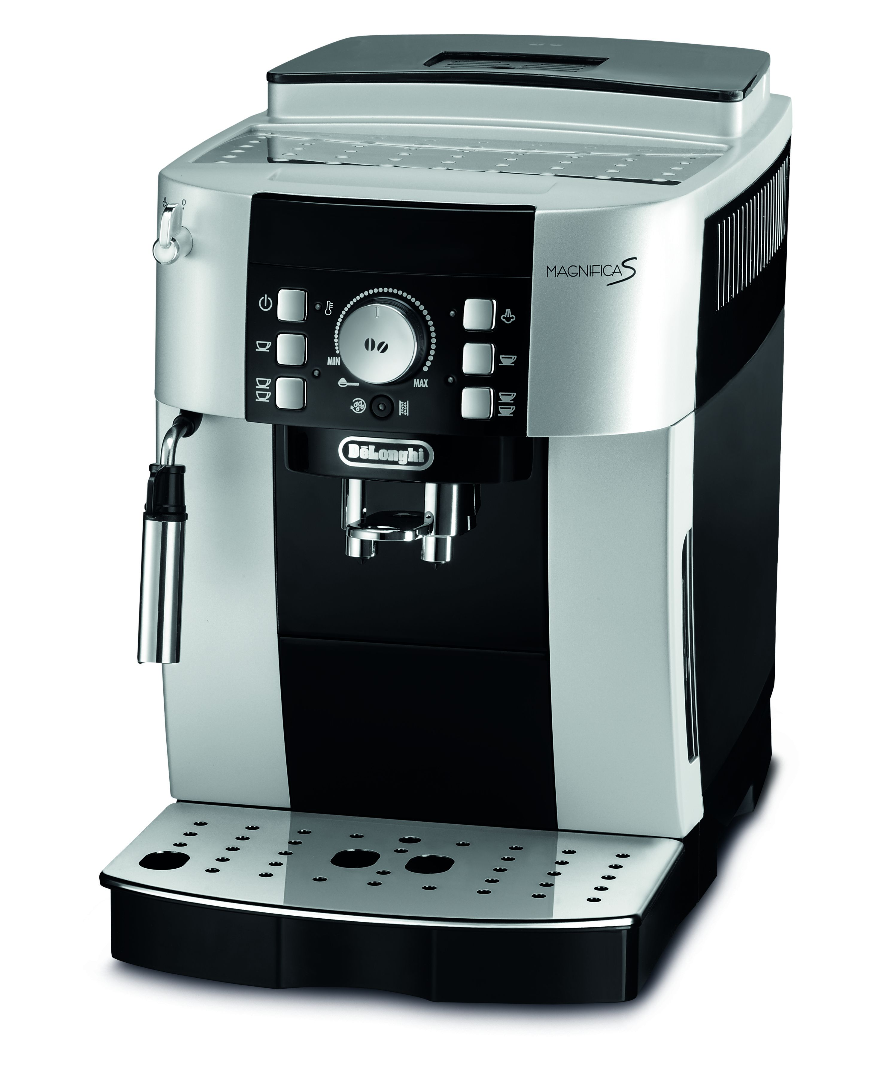 de longhi magnifica s kaffeeautomat f r die espressobar zu hause. Black Bedroom Furniture Sets. Home Design Ideas