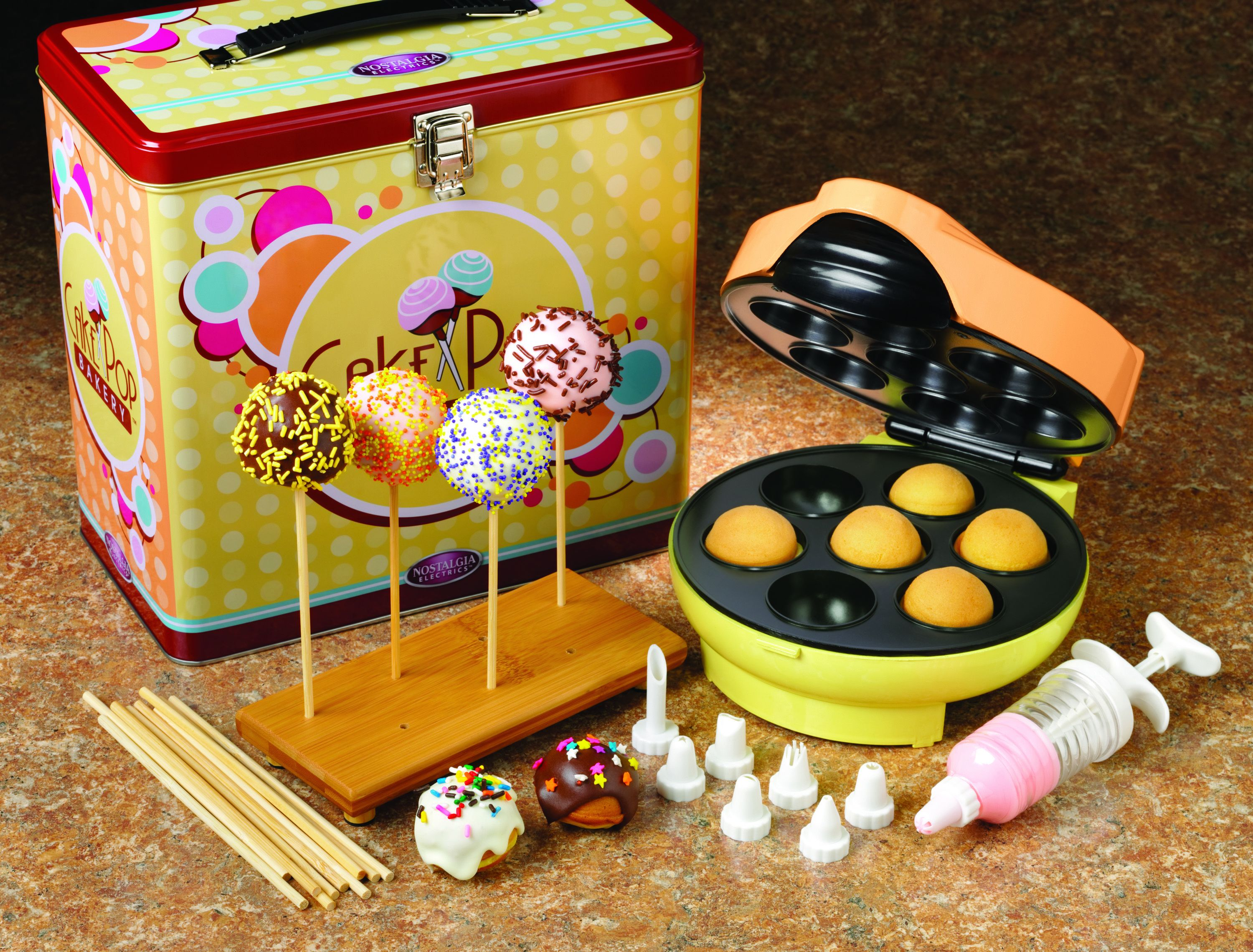 simeo cakepopmaker fc 610 f r lustige kuchen lollipops. Black Bedroom Furniture Sets. Home Design Ideas
