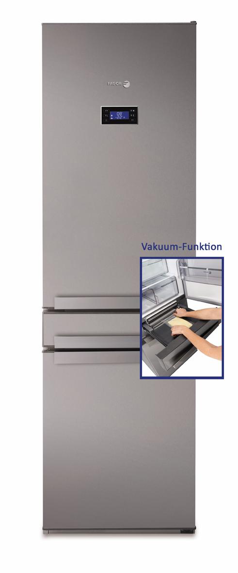 Fagor Ffk 6845 Vx Kuhl Gefrierkombination Vakuumfunktion Und 0 C