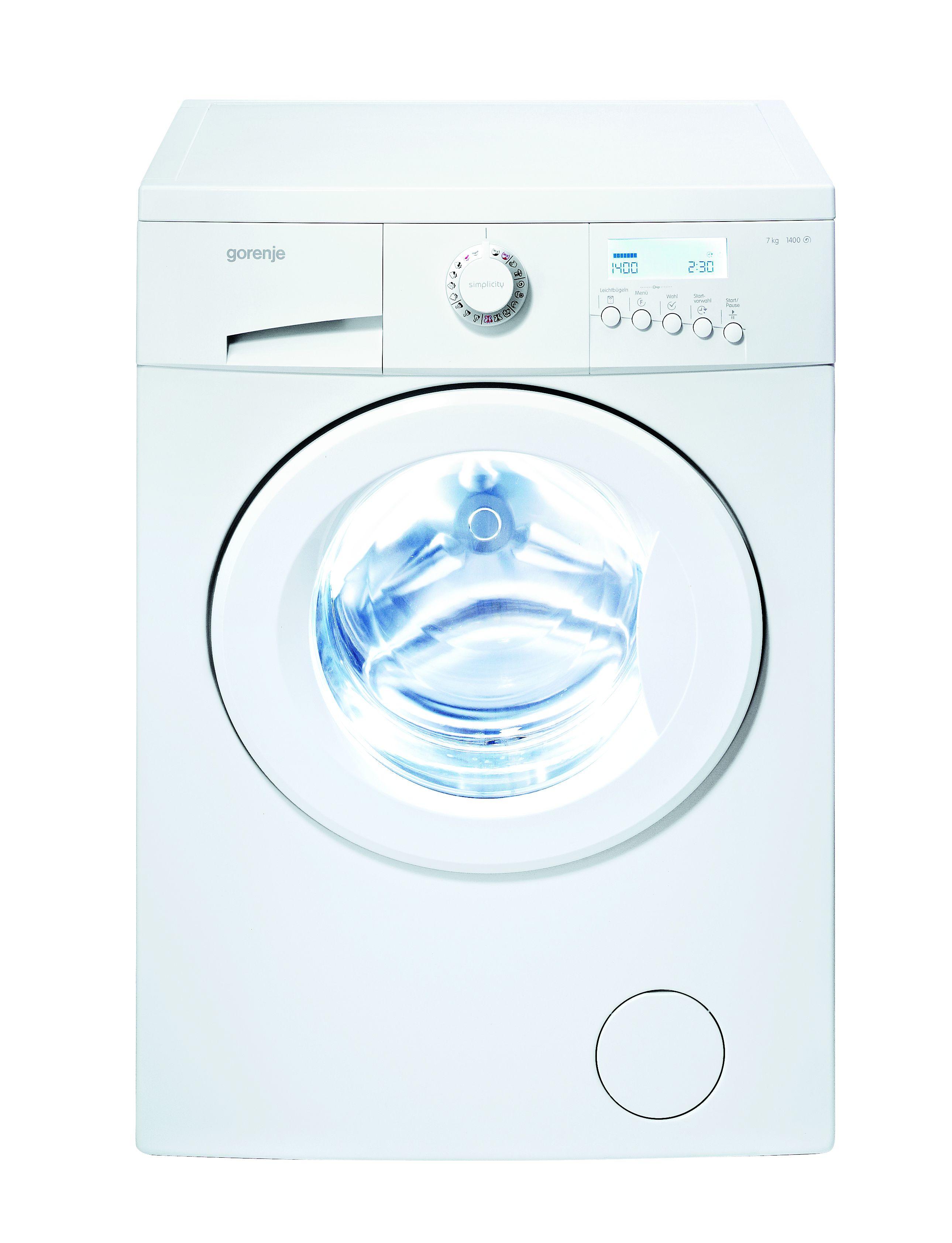 gorenje simply white wa 743 syw waschmaschine mit zusatzprogramm sport 30. Black Bedroom Furniture Sets. Home Design Ideas