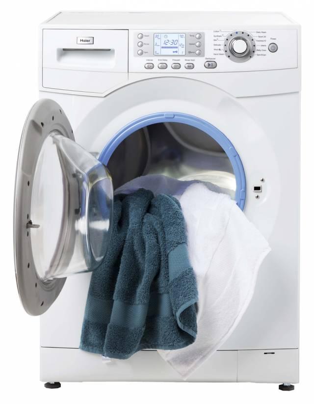 haier hw80 b1486 waschmaschine f r anitbakterielles waschen. Black Bedroom Furniture Sets. Home Design Ideas