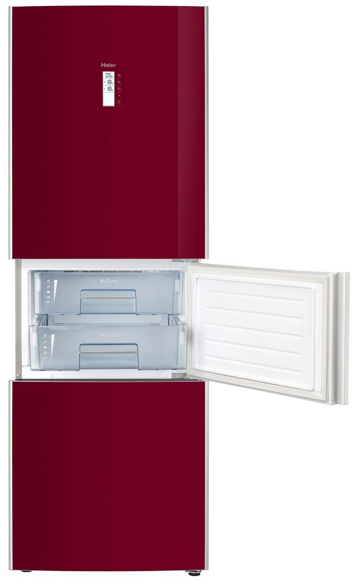 Haier MyZone Kühl-Gefriekombination: drittes Fach als Kühlschrank ...
