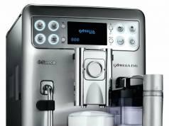 Kaffeevollautomat Philips Saeco Exprelia Evo Edelstahl mit integrierter Milchkaraffe