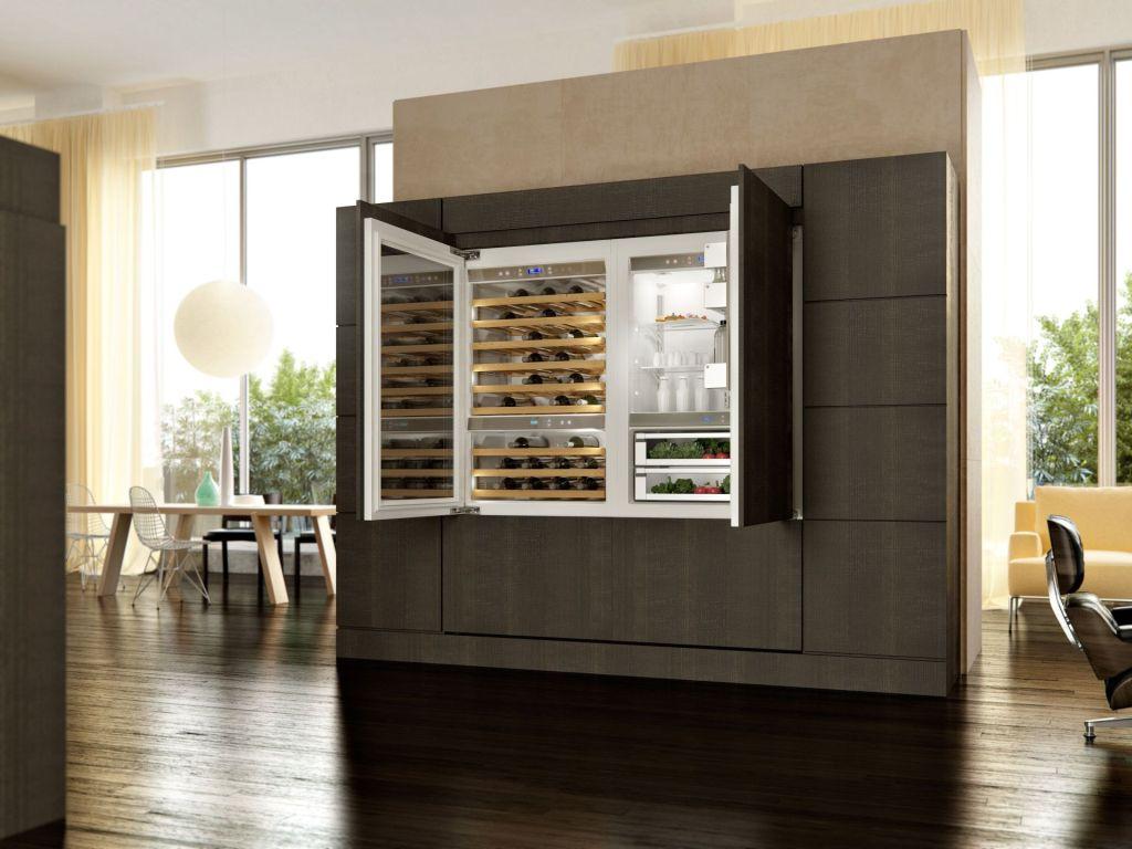 KitchenAid Vertigo Weinklimaschrank holt den Weinkeller in die Küche