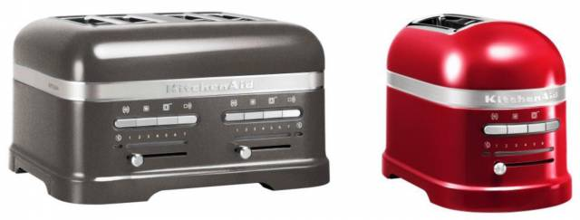 kitchenaid artisan toaster immer perfekter toast egal ob zwei oder vier scheiben. Black Bedroom Furniture Sets. Home Design Ideas