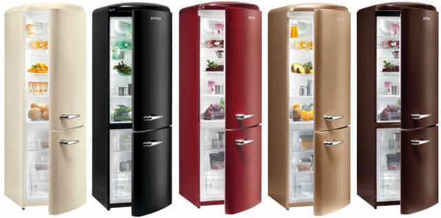 Kühl-Gefrierkombination Gorenje Retro Collection RK 603510 – Energieefffizienzklasse A+++ in fünf Farben