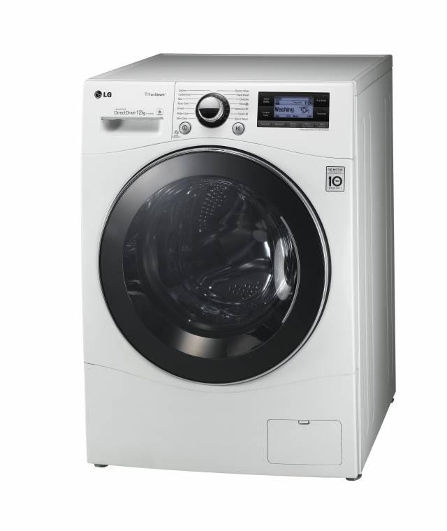 lg f1495bd waschmaschine 12 kg smarte waschmaschine mit. Black Bedroom Furniture Sets. Home Design Ideas