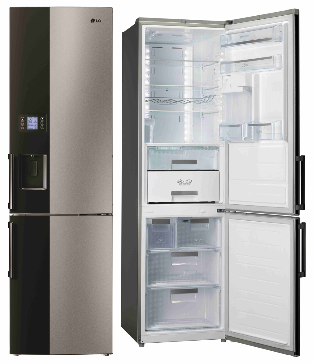 lg k hl gefrierkombination gb 7143 a2bz mit auto icemaker. Black Bedroom Furniture Sets. Home Design Ideas