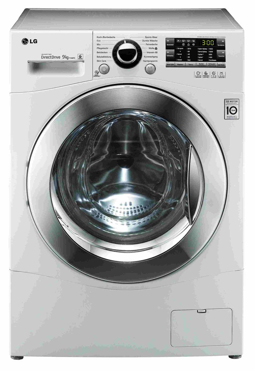 lg waschmaschine 3 kleine modelle mit 6 motion direct drive. Black Bedroom Furniture Sets. Home Design Ideas