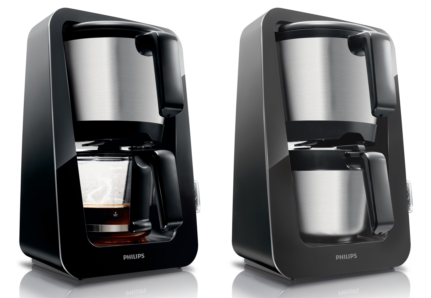 philips avance hd kaffeemaschine 2 farben mit glas oder thermokanne. Black Bedroom Furniture Sets. Home Design Ideas
