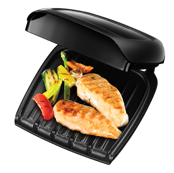 russell hobbs compact grill platz f r 3 portionen grillgut. Black Bedroom Furniture Sets. Home Design Ideas