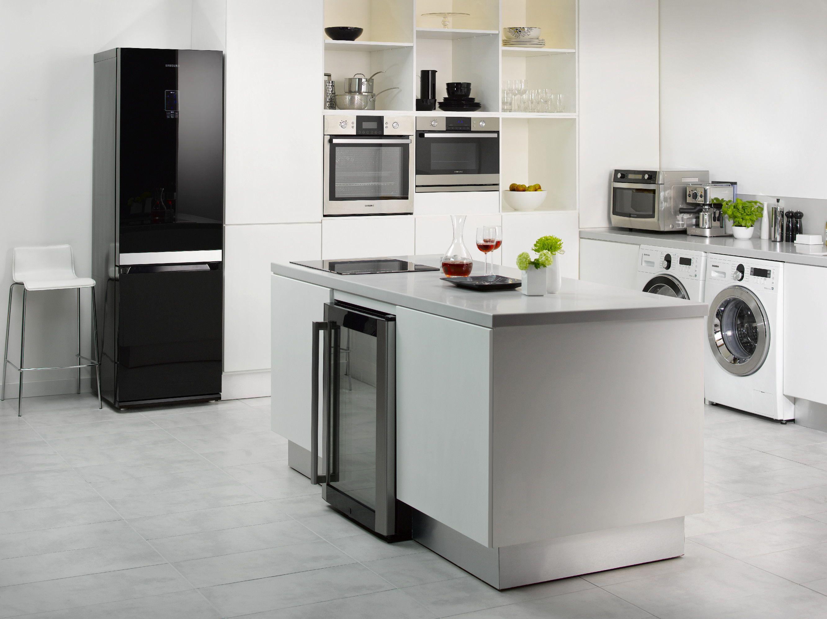 Elegant, wohnlich, angesagt: Die Samsung Designtrends für moderne Küchen