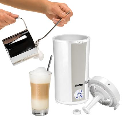 unold latte induzio milchaufsch umer mit vier temperaturstufen. Black Bedroom Furniture Sets. Home Design Ideas