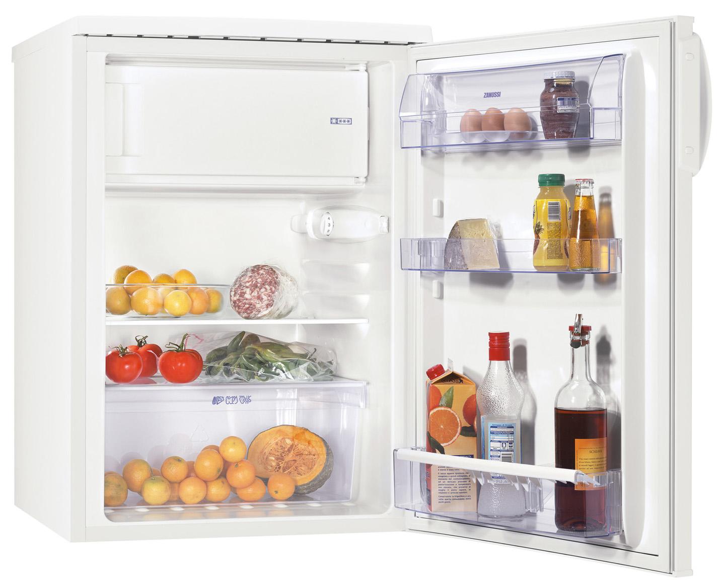 Zanussi ZRG716SW Kühlschrank – 137 Liter der Energie-Effizienzklasse A++