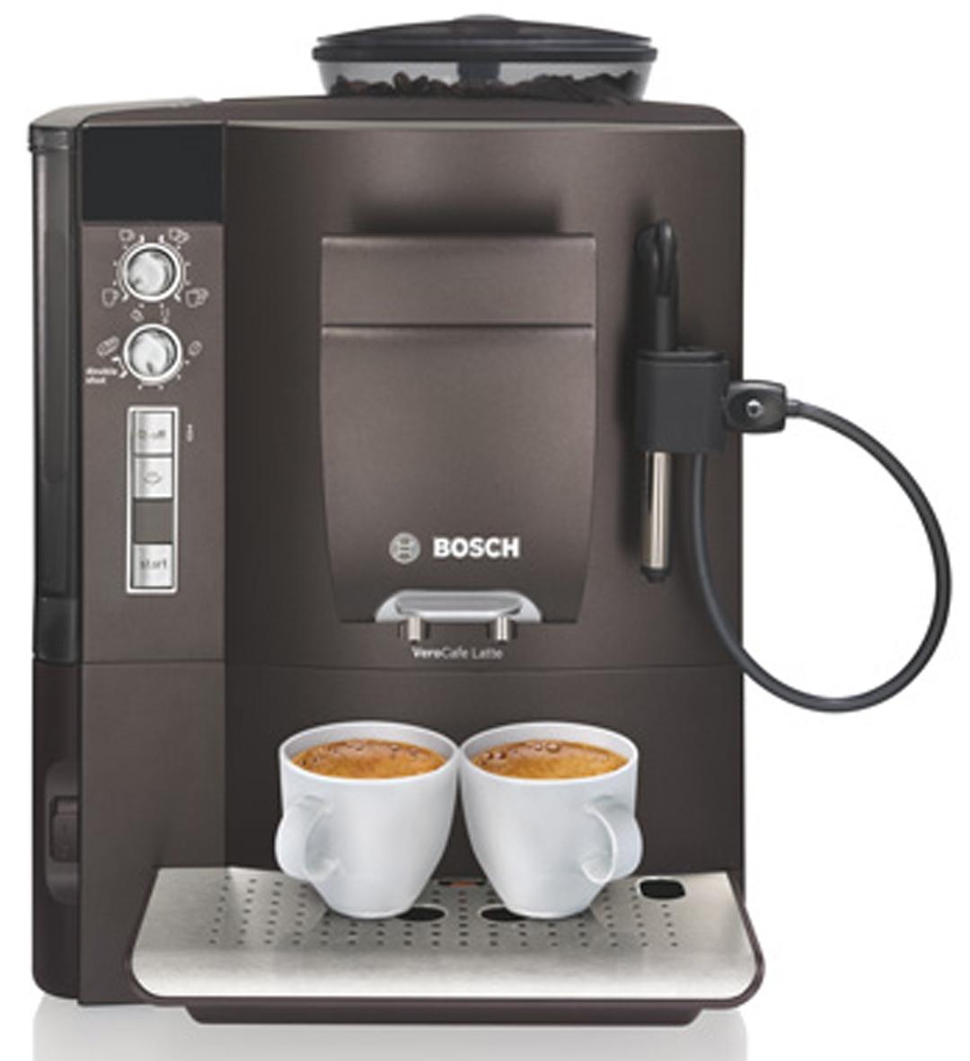 bosch verocafe dunkelbraun kaffeevollautomat bosch verocafe latte und lattepro. Black Bedroom Furniture Sets. Home Design Ideas