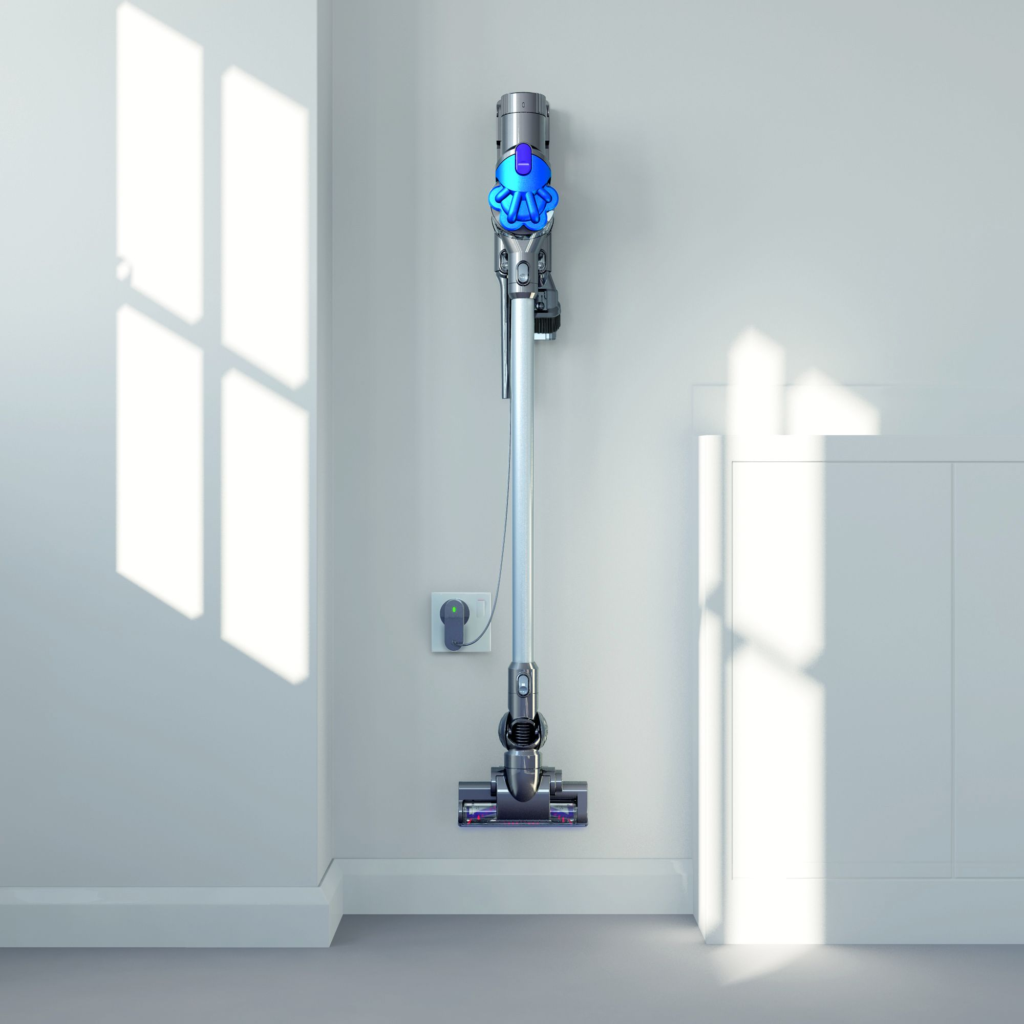dyson dc35 wandhalterung akku handstaubsauger dyson digital slim dc35 multi floor modernste. Black Bedroom Furniture Sets. Home Design Ideas