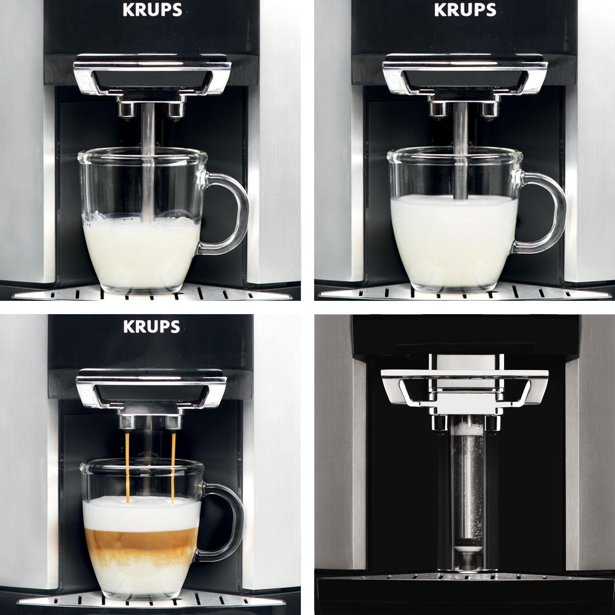 krups ea 9000 milchschaumvorgang krups ea 9000 kaffeevollautomat mit one touch bedienung. Black Bedroom Furniture Sets. Home Design Ideas