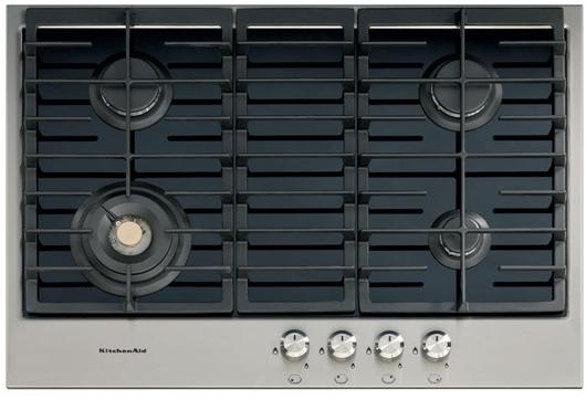 kitchenaid gas auf glas kochfeld zeitlos sch n durch nanotechnologie. Black Bedroom Furniture Sets. Home Design Ideas
