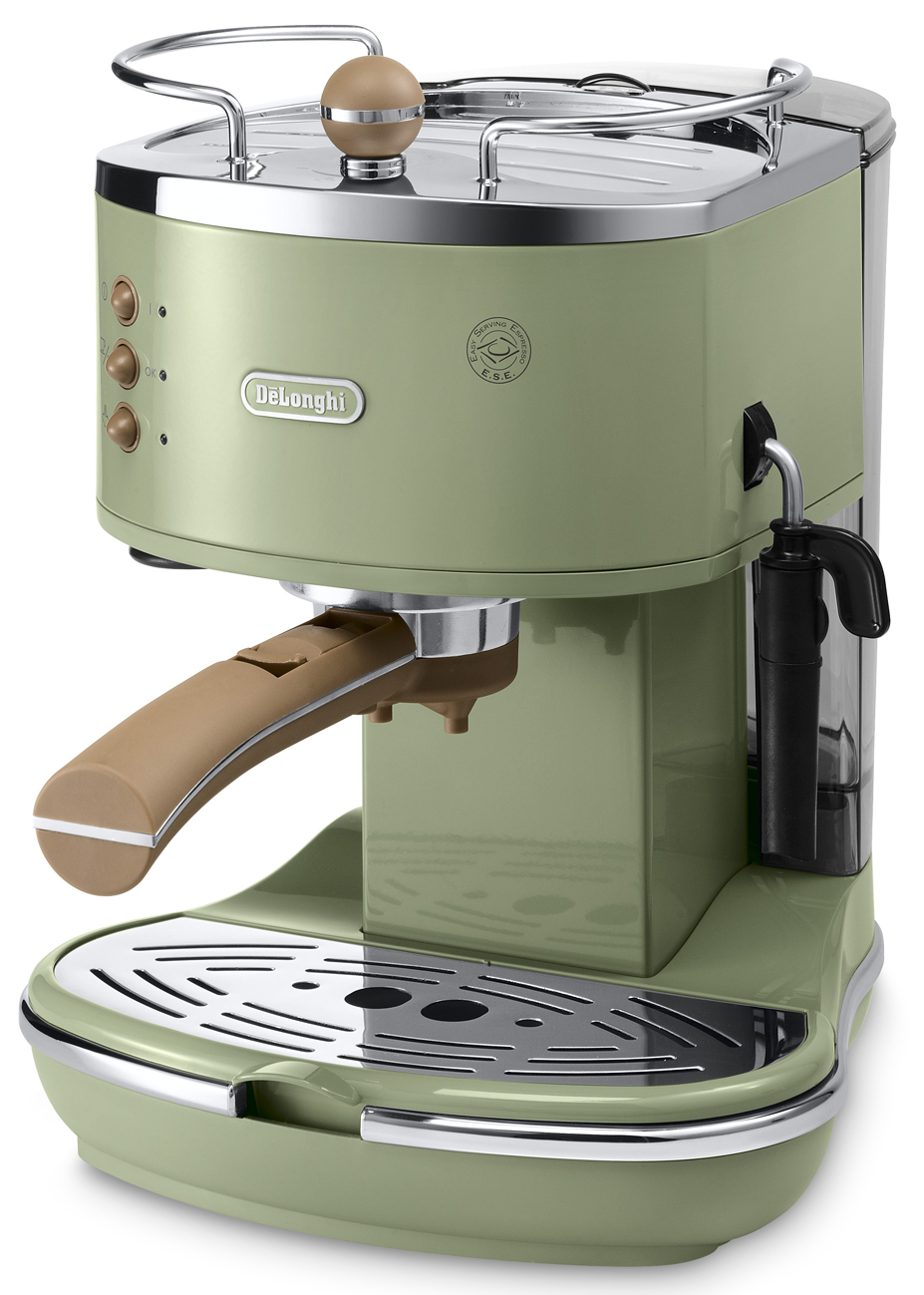 de longhi icona vintage espressomaschine ecov 310 siebtr ger f r traditionalisten. Black Bedroom Furniture Sets. Home Design Ideas