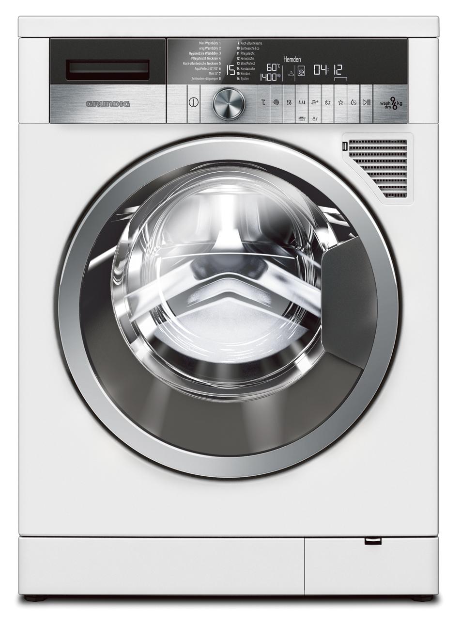 grundig waschtrockner gwd 59400 9 kg waschen 6 kg trocknen. Black Bedroom Furniture Sets. Home Design Ideas