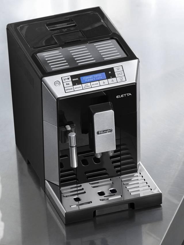 de 39 longhi kaffeevollautomat eletta plus f r traditionelles aufsch umen. Black Bedroom Furniture Sets. Home Design Ideas