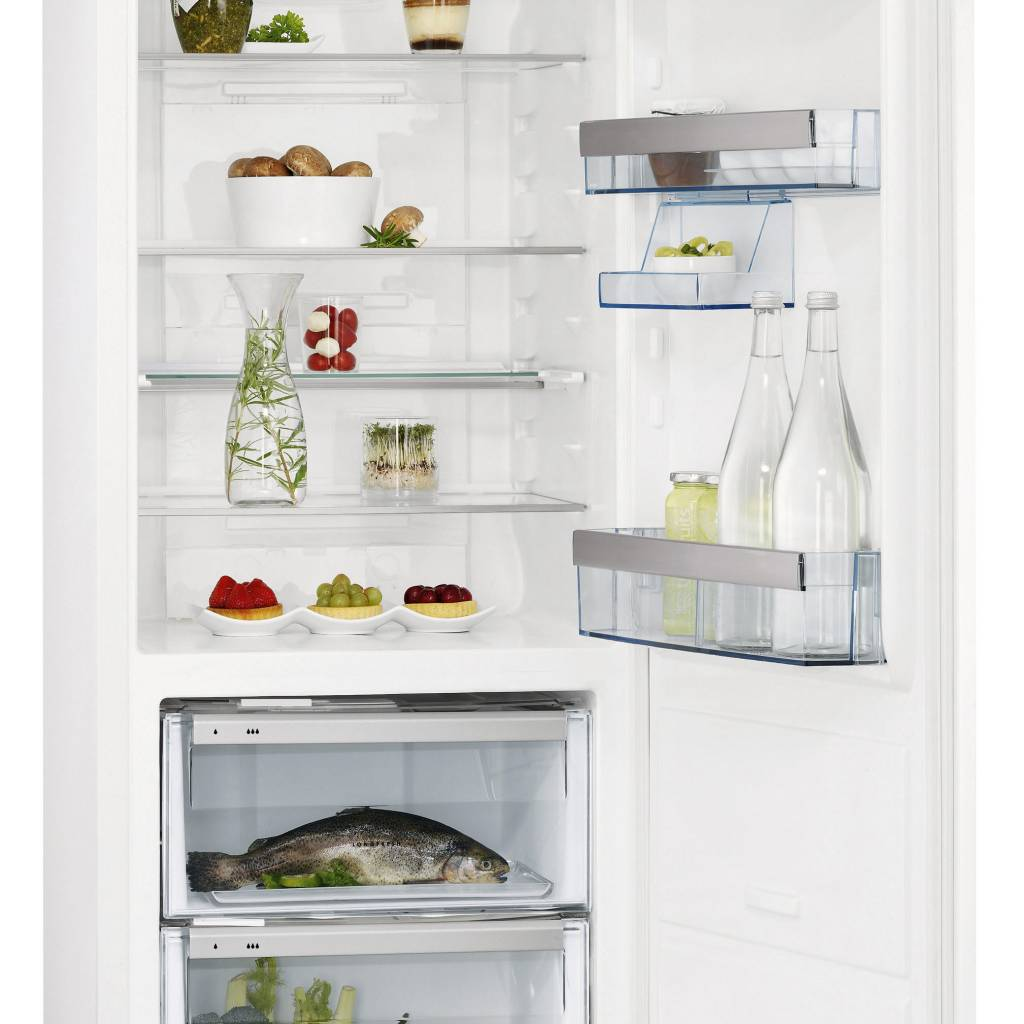 AEG Kühlschrank Santo für 140er Nische - mit zwei Longfresh-Kaltfächern