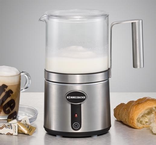 Milchaufschäumer MS650 von Rommelsbacher für perfekten Milchschaum