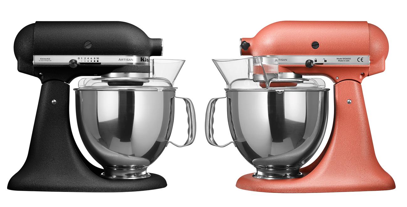 kitchenaid k chenmaschine artisan in neuen farben. Black Bedroom Furniture Sets. Home Design Ideas