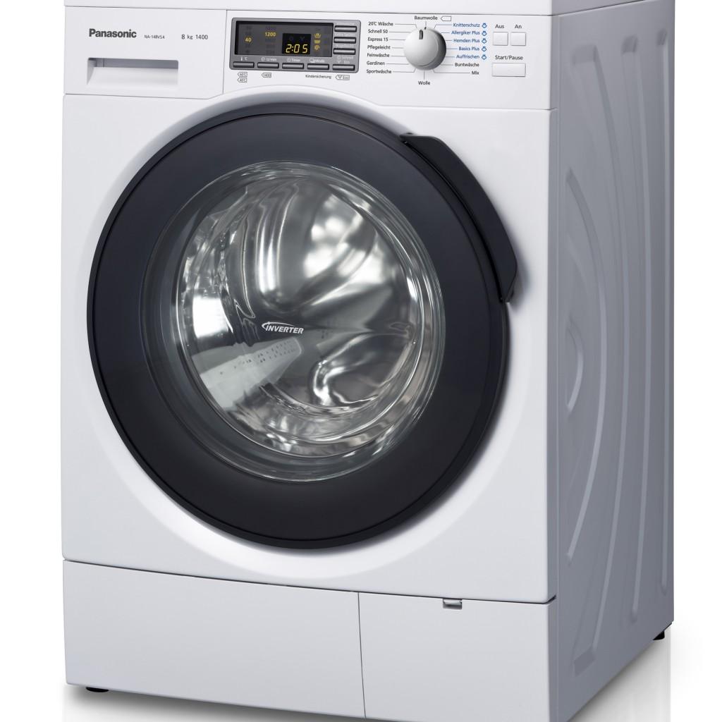 panasonic waschmaschine na 148vs4 mit steam action. Black Bedroom Furniture Sets. Home Design Ideas