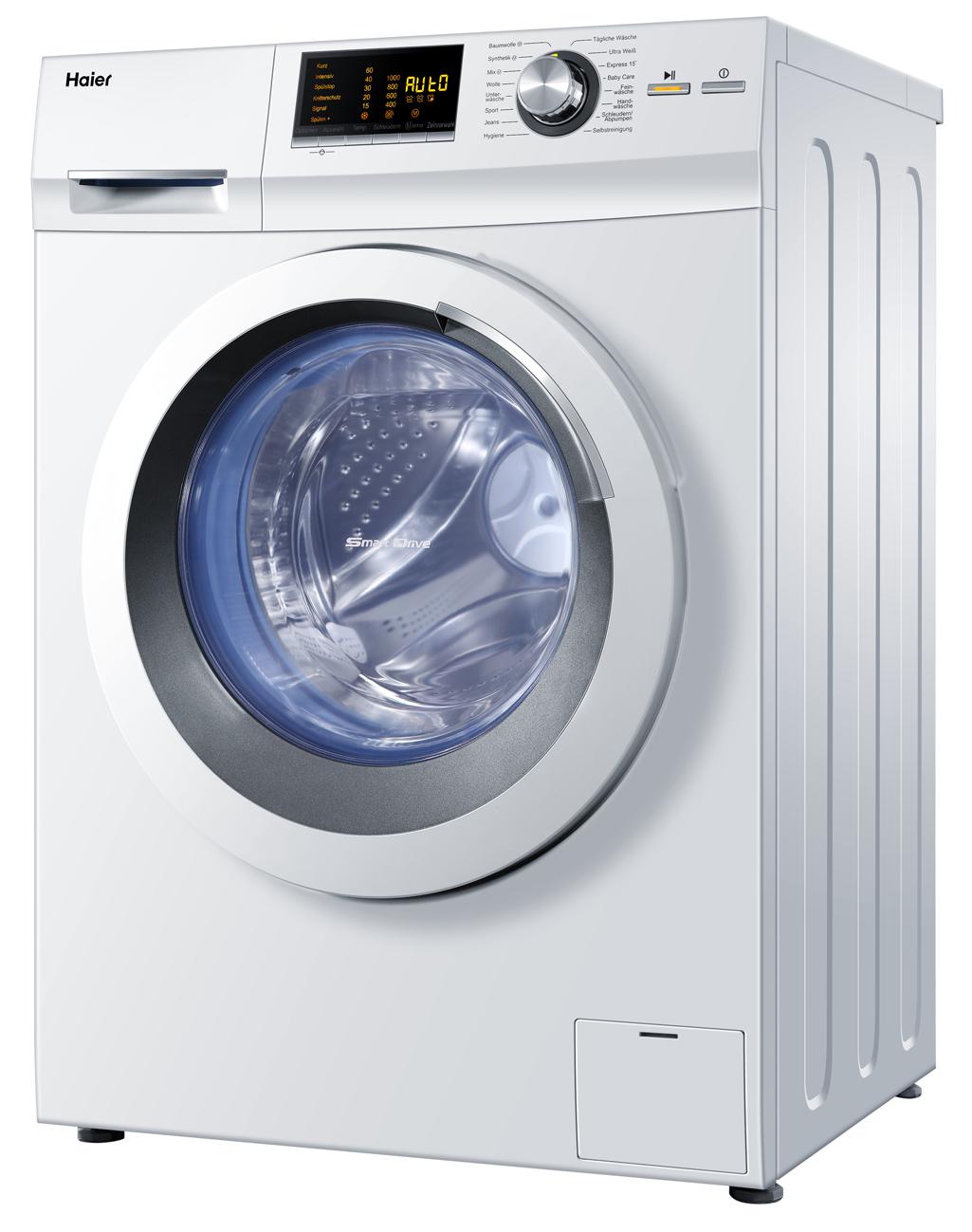haier waschmaschine hw80 bd16266 automatische waschmitteldosierung. Black Bedroom Furniture Sets. Home Design Ideas