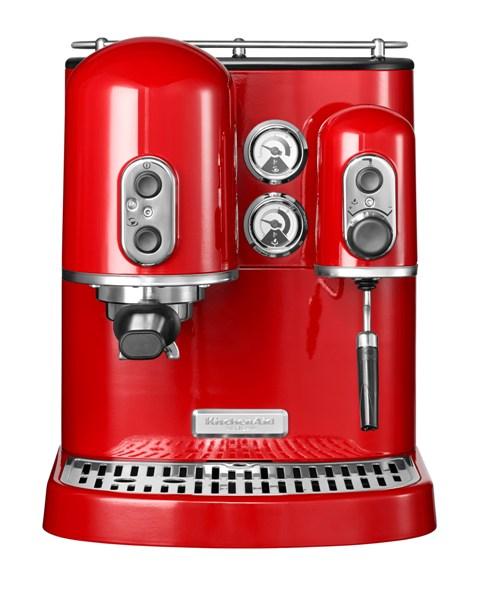 kitchenaid artisan espressomaschine kaffeegenuss auf barista niveau. Black Bedroom Furniture Sets. Home Design Ideas