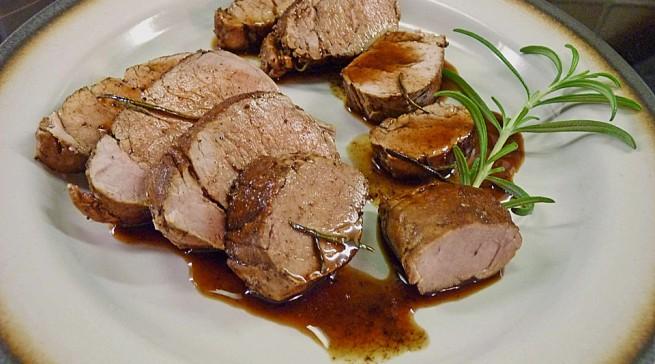 Italien: Rosmarin Balsamico Schweinefilet (Bild: stift1/chefkoch.de)