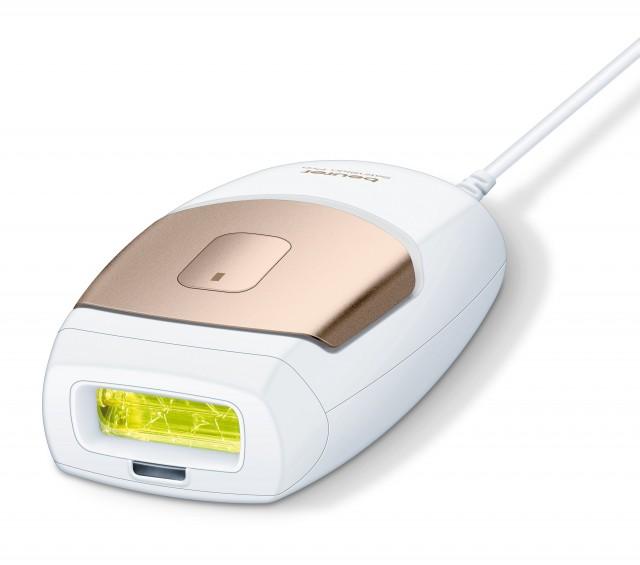 Das Beurer Haarentfernungsgerät IPL 7000 ist auch für die Behandlung kleinerer Flächen nutzbar.