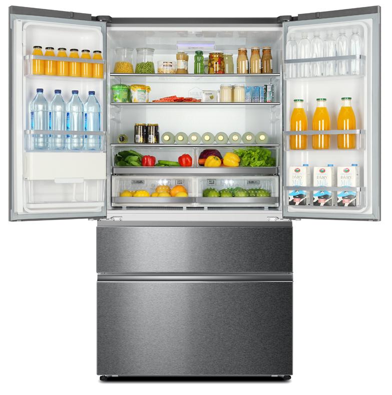 Haier Kühlschrank HB25FSSAAA - French Door Gerät, Energieeffizienz A++