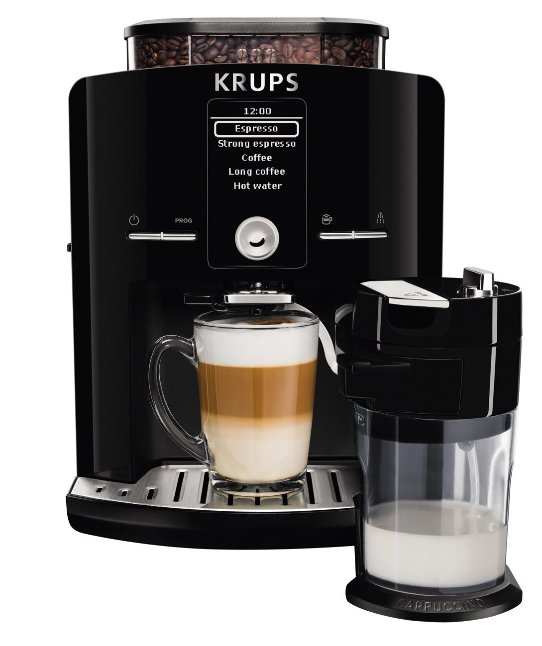 krups kaffeevollautomat latt espress ea8298 im kompaktformat. Black Bedroom Furniture Sets. Home Design Ideas