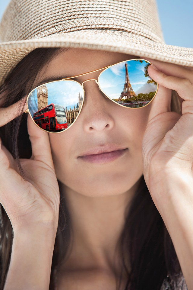 Close-up of a woman wearing sunglasses (Bild: Kärcher)