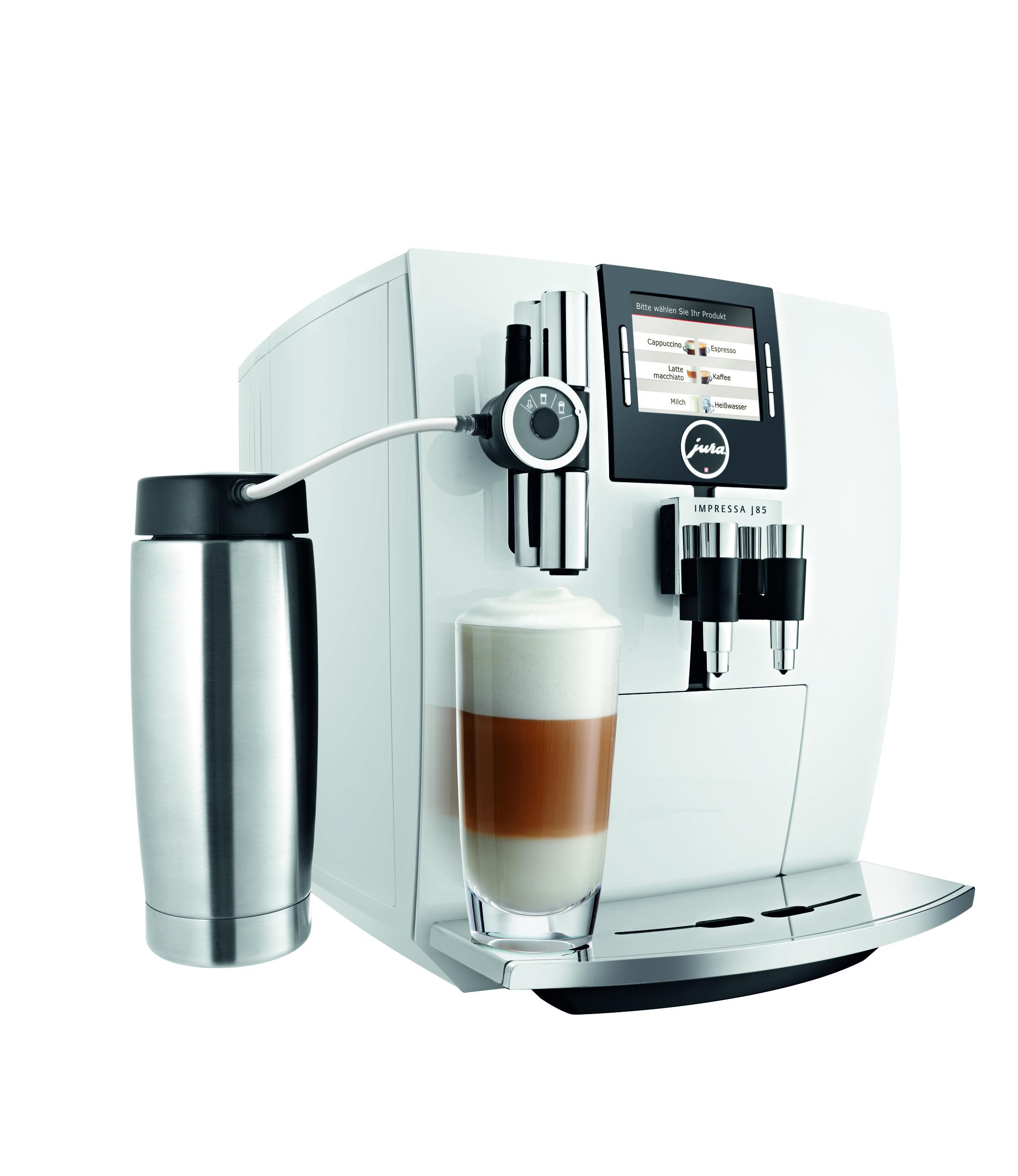 Jura: Neue Farben und Designveränderungen halten Kaffeevollautomaten ...