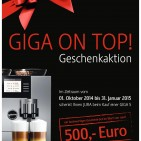 "Jura Geschenkaktion ""Giga on top!"""