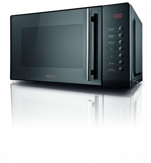 koenic mikrowelle kmw 2321db 20 liter volumen 800 watt. Black Bedroom Furniture Sets. Home Design Ideas
