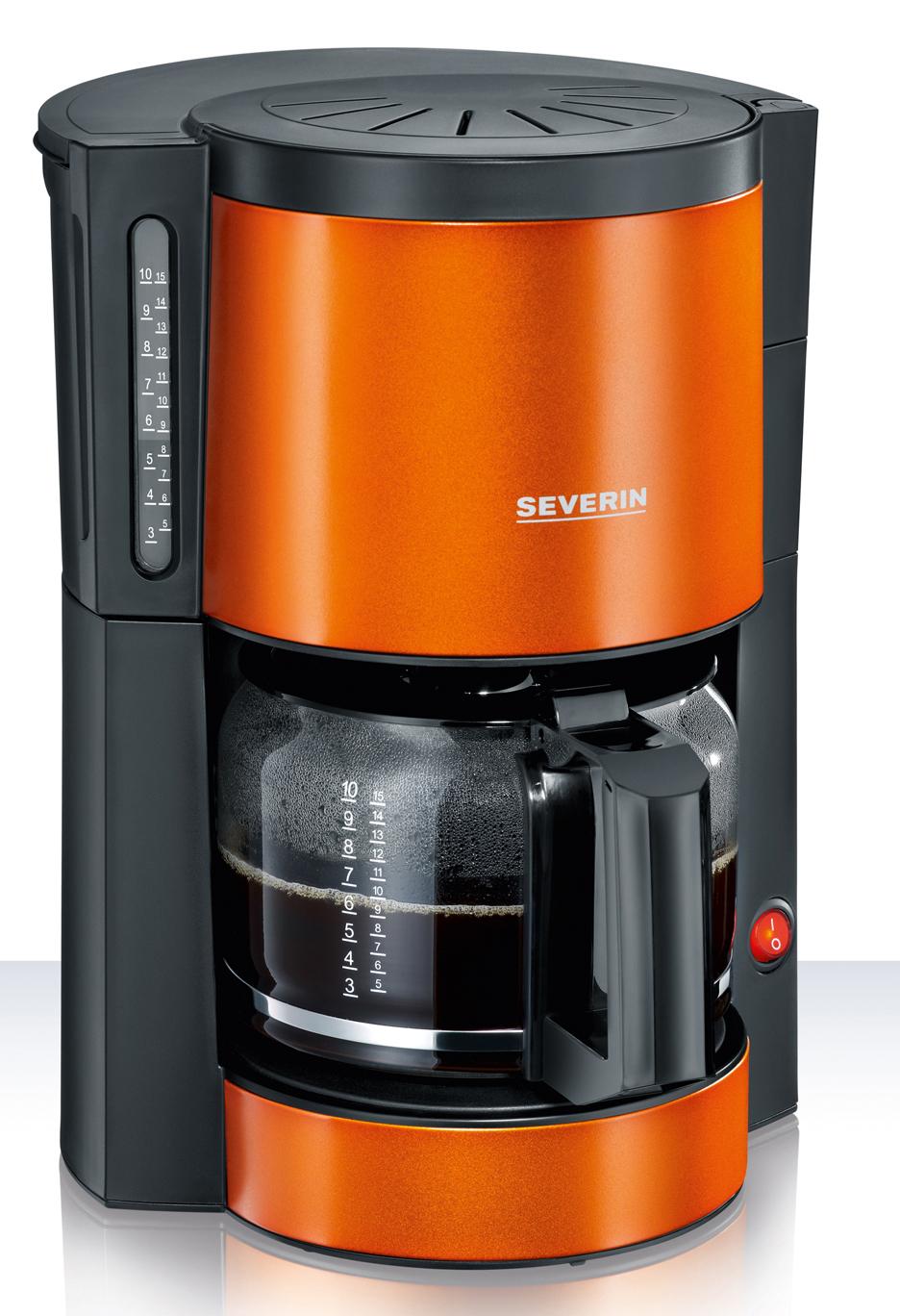 Severin Filterkaffeemaschine Edelstahl Limited Colour Edition in 3 ...
