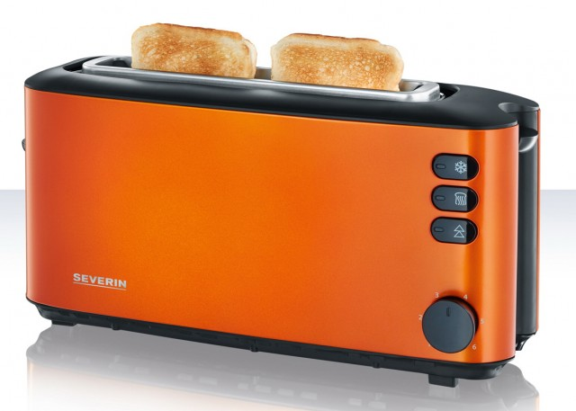 Severin Toaster Edelstahl Limited Colour Edition
