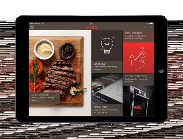 Speziell für Dampfgarer - Let's Taste App von AEG
